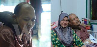 lepas 5 bulan bernikah, suami lumpuh dan buta akibat buah pinggang bocor