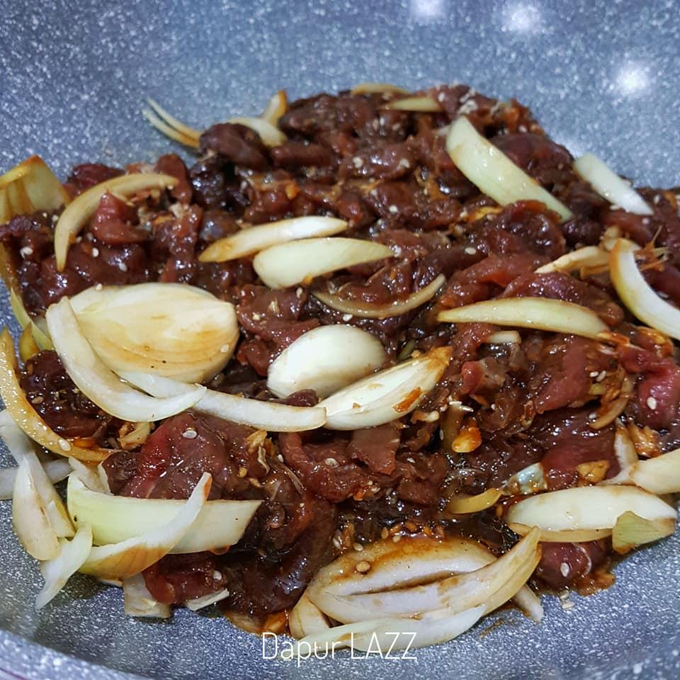 Resepi Lengkap Bulgogi Daging BBQ Korea, Sambil Layan Drama Korea Boleh Ngap