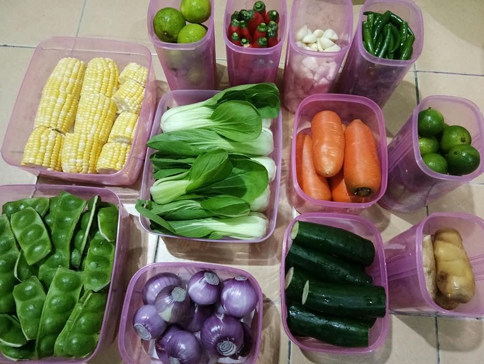 Ibu Ini Kongsi Cara Simpan Lauk Dan Sayur Sebulan, 14 Tahun Amal Dari Mula Kahwin Sampai Sekarang