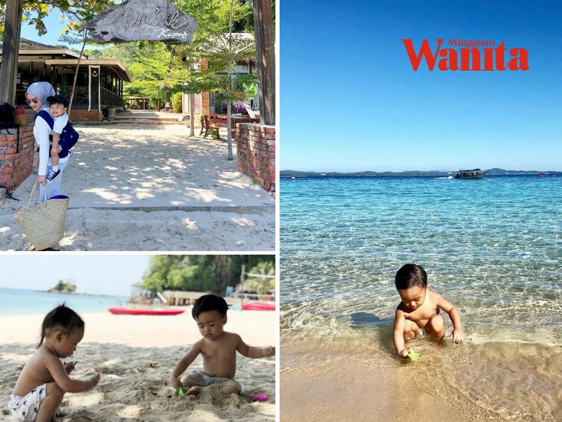 tenang bawa anak anak kecil bercuti di pulau kapas boleh