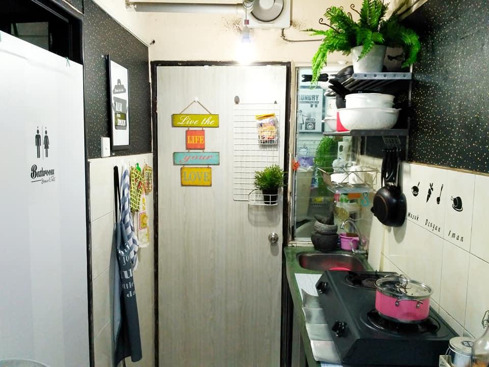Deko Ruang Dapur Tanpa Kabinet