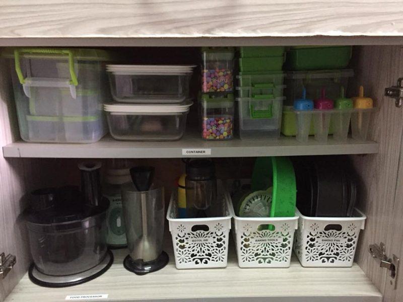11 Diy Rak Dapur Guna Barang Eco Konsep Terbaru