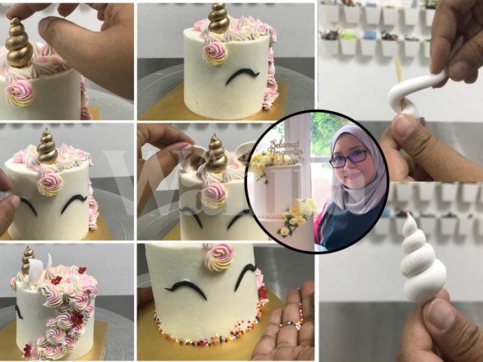 buat kek unicorn