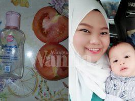 Petua Kulit Mulus Pinkish Bak Bayi, Cuma Sapu Tomato Dan Baby Oil Malam Hari