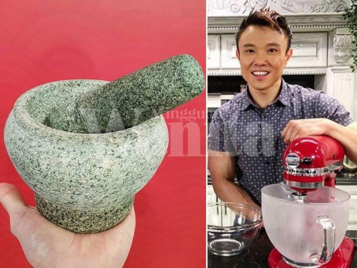 Tip Jaga Lesung Batu, Tumbuk Garam Kasar Selalu Bagi Tajamkan Matanya