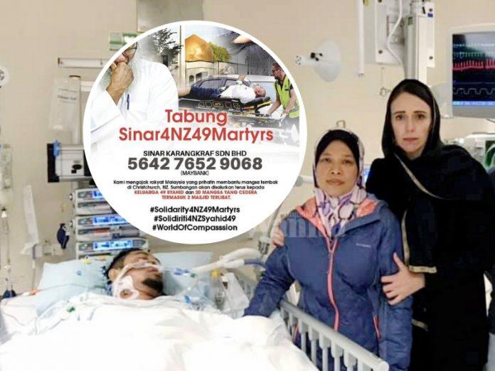 Bantulah! Keluarga Mangsa Tembakan Rambang Di Christchurch Perlukan Sumbangan Anda