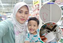 Anak Conteng Dinding, Simpan Suara Petir Tu, Magic Sponge RM2.10 Ini Buat Mak Tenang