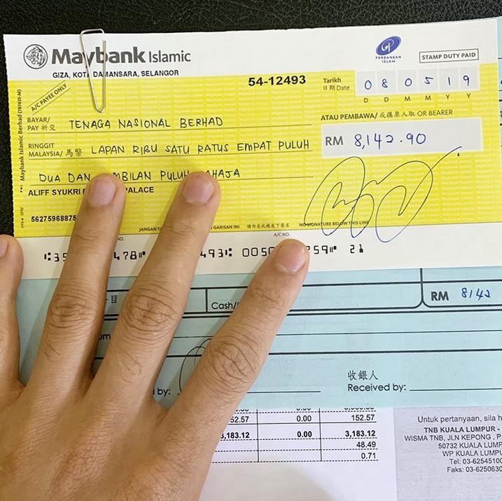 Aliff Syukti Minta Tip Kurangkan Bil Elektrik Lebih RM8K, Ini Jawapan Netizen