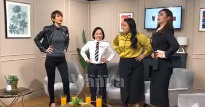 Gamat Studio Bila Sherry Alhadad & Elizad Bergurau Dengan Tetamu Wanita Bekerjaya Luar Biasa!