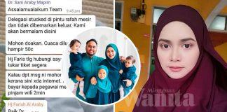 Yatt Hamzah Mohon Doakan Suami, Delegasi Malaysia Ditahan Tentera Israel Di Pintu Rafah