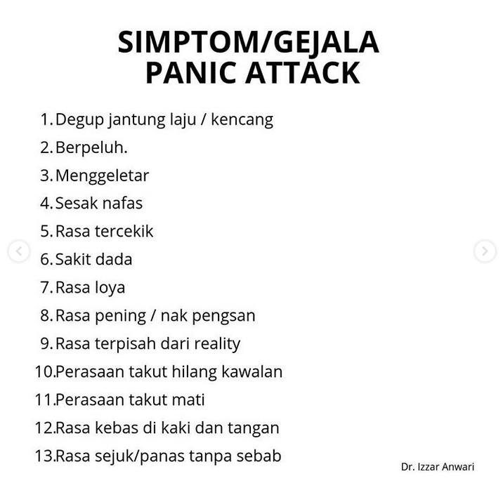 Tak Sedar Sakit Dada Teramat Rupanya Panic Attack, Jangan Remehkan Tandanya