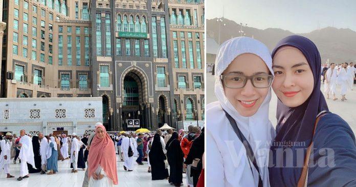 """""""Wany Terus Fikir Nama Kita, Memang Ajaib.."""" Amira Othman Cerita Perjalanan Haji Di Makkah"""