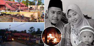 Tragedi Tiga Beranak Rentung Dalam Bilik, 'Jeritan Terakhir Isteri Minta Tolong…'