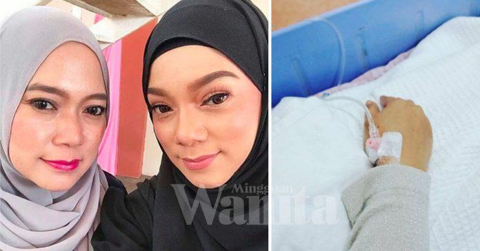 'Kebas Kaki Tangan Hingga Sukar Bergerak..' Linda Rafar Mohon Doakan Kakak