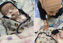 Mawar Karim Rayu Orang Ramai Bantulah Bayi Nishka, Derita Kanser Otak