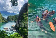 Seronok Sungguh Wanita Ini Snorkelling & Hiking Di Pulau Coron. Kat Mana Tu?
